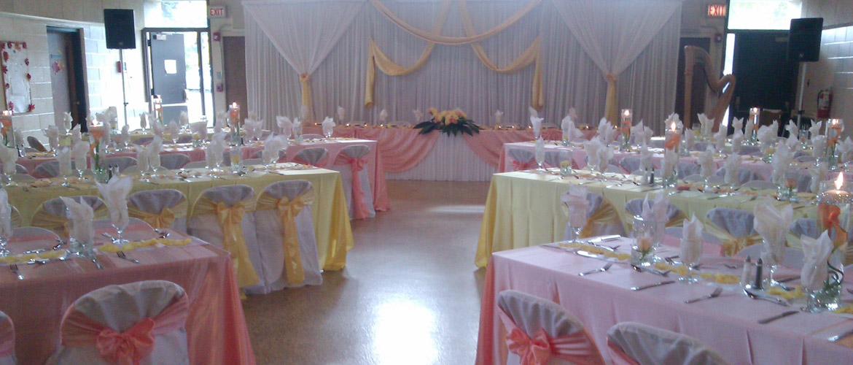 Affordable Wedding Banquet Hall Chicago Ballroom Rental